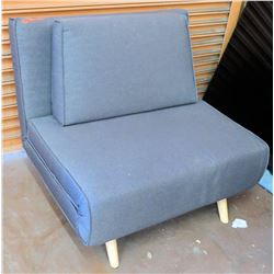 "Fold Out Sofa Chair (Folds Out and Converts Into Mini Bed), 36""W"