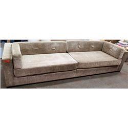 "Oversized Upholstered Chenille Sofa 122""L x 38.5""D x 26""H"