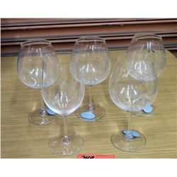 Qty 5 Miele by Riedel Wine Glasses