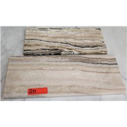 Qty 2 Stone Cutting Boards