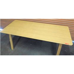 "Modern Wooden Dining Table 79""L x 35.5""W x 30""H"