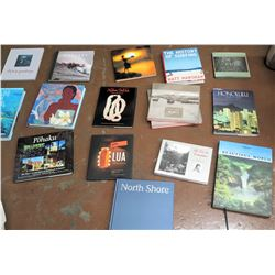 Qty 16 Misc. Books on Hawaii
