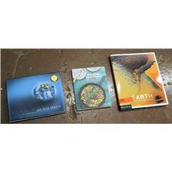 Qty 3 Cookbooks, Earth, & Alan Wong Books