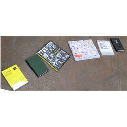 Qty 6 Misc. Books: Gray Malin 'Beaches', Interior Design, etc