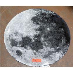 """Bloomingdale's 'Moon' Circular Rug, 28"""" Dia"""