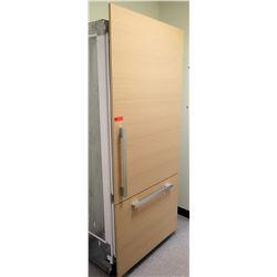 Miele Counter-Depth Refrigerator w/ Wood Front Paneling, Model CIB36M1IR1