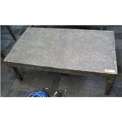 Modern 'Stone-Look' Composite Coffee Table