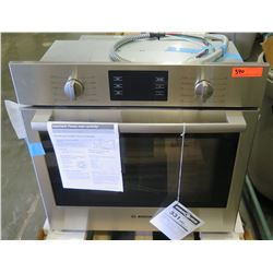 "Bosch Wall-Mount Electric Convection Oven, 30"" W, Model HBL5451UC"