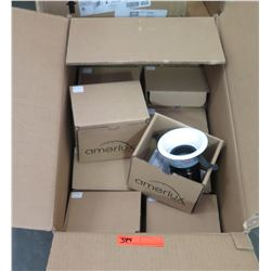 Box Multiple Amerlux Round Downlight, Model HDL-HP-RD-A14.MWW.WF