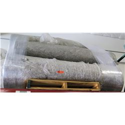 Pallet of 5 Rolls Carpet Padding