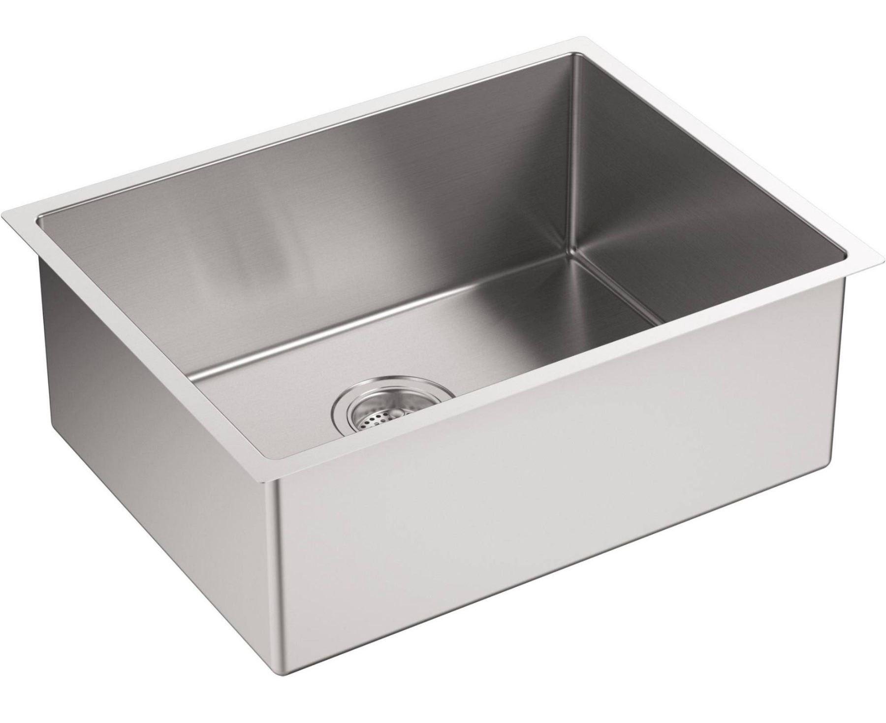 Kohler Strive Single Basin Undermount Kitchen Sink Model ...