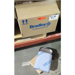 Box (Qty 4) Bradley Diplomat Napkin Disposal Model A410-110000