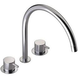Vola 3 Hole Deck Mounted Basin Faucet Model KV15-40 Retail $2002