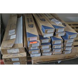 "Pallet Multiple Boxes ""C"" Supply Conductors & 48"" Strip Lites"