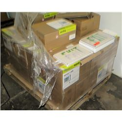 Pallet of Multiple Boxes Fortezza Plus Wet Location Exit Sign Model IP66 (Approx. 31 Qty)