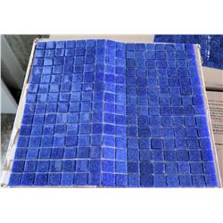 "Pallet 16"" Diameter Kolo Blue Tile"