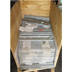 "Pallet W-10 Wall Cladding, Travertine, 24""x30""x3.5"""