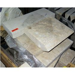 Pallet 24 Pieces Misc Multiple Stone Slabs
