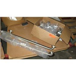 Qty 2 Bobrick 10TBE Grab Bars & ATECO Parts