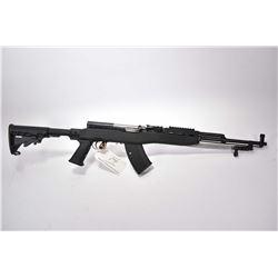 "Simonov Model SKS 7.62 x 39 Cal Mag Fed Semi Auto Military Style Rifle w/ 20"" bbl [ blued finish, ba"