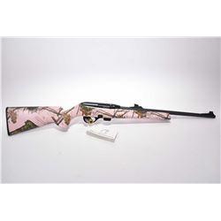 "Remington Model 597 .22 LR Cal Mag Fed Semi Auto Rifle w/ 20"" bbl [ blued finish, barrel sights w/ g"