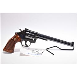 Restricted Handgun - Smith & Wesson Model 17 . 22 LR Cal 6 Shot Revolver w/ 213 mm bbl [ appears exc
