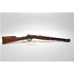 """Henry Repeating Arms Model Big Boy .45 Colt Cal Tube Fed Lever Action Rifle w/ 19 3/4"""" octagon bbl ["""