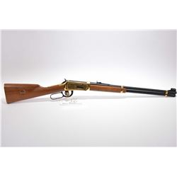 Winchester Model 94 Golden Spike Commemorative .30 - 30 Win Cal Lever Action Saddle Ring Carbine w/