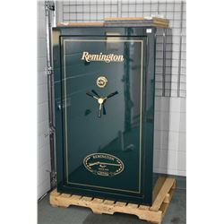 Large Dark Green Remington Gun Safe [ holds 40 rifles - Combination Lock to given to buyer when purc