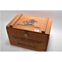 Modern Winchester Wooden Shot Shell Box ONLY