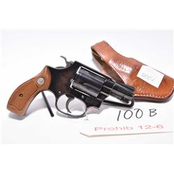 Prohib 12 - 6 - Smith & Wesson Mod 36 .38 Spec Cal 5 Shot Revolver w/ 51 mm bbl [ blued finish, fixe