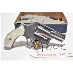 Prohib 12 - 6 - Smith & Wesson Model 60 .38 Spec Cal 5 Shot Revolver w/ 51 mm bbl [ appears excellen