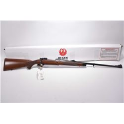 "Ruger Model M77 Hawkeye 6.5 x 55 Swedish Mauser Cal Bolt Action Rifle w/ 24"" bbl [ appears new in or"