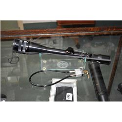 Weaver V 9 II Micro - Trac 3 x 9 Variable Scope w/ adjustable objective w/ rubber caps [ appears v -