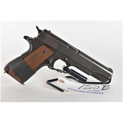 Restricted Handgun Colt Model 1911 A 1 .45 Auto Cal 7 Shot Semi Auto Pistol w/ 127 mm bbl [ fading b