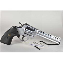 Restricted Handgun Colt Model Python .357 Mag Cal 6 Shot Revolver w/ 152 mm vented rib bbl [ appears
