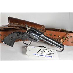 Restricted Handgun - Colt Model Frontier Scout .22 LR Cal 6 Shot Revolver w/ 120 mm bbl [ blued fini