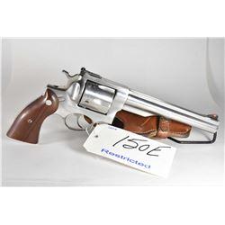 Restricted Handgun - Ruger Model Redhawk .44 Mag Cal 6 Shot Revolver w/ 191 mm bbl [ stainless finis