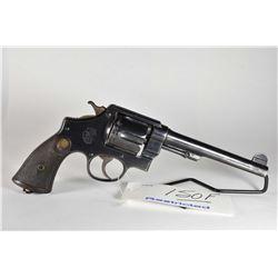 Restricted Handgun Smith & Wesson Model 455 Mark II Hand Ejector 2nd Model .455 Rev Cal 6 Shot Revol