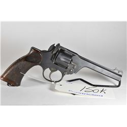Restricted Handgun - Enfield ( RSAF ( F ) Model No. 2 Mark I ** .38 S & W Cal 6 Shot Revolver w/ 127