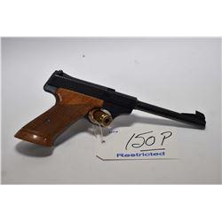 Restricted Handgun - Browning ( Belgium ) Model Challenger .22 LR Cal 10 Shot Semi Auto Pistol w/ 17