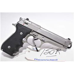 Restricted Handgun - Beretta Model 92 Brigadier .9 MM Luger Cal 10 Shot Semi Auto Pistol w/ 125 mm b