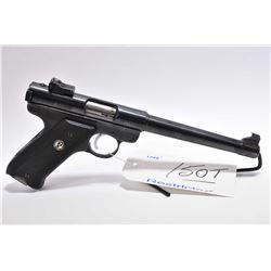 Restricted Handgun - Ruger Model Mark I Target .22 LR Cal 9 Shot Semi Auto Pistol w/ 175 mm bbl [ bl