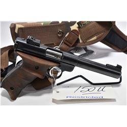 Restricted Handgun - Ruger Model Mark II Target .22 LR Cal 10 Shot Semi Auto Pistol w/ 140 mm bbl [