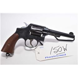 Restricted Handgun - Smith & Wesson Model 38 Hand Ejector M & P 1905 4th Change .38 S & W Cal 6 Shot
