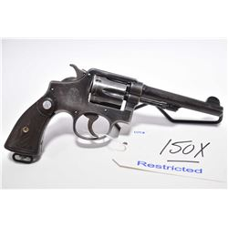 Restricted Handgun - Smith & Wesson Model 38 Hand Ejector M & P 4th Change .38 S & W Cal 6 Shot Revo