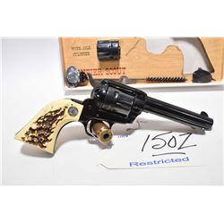 Restricted Handgun - Colt Model Frontier Scout .22 LR / .22 Mag Cal 6 Shot Revolver w/ 120 mm bbl [