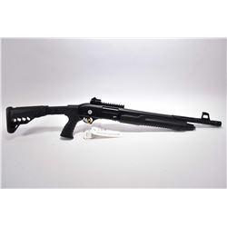 "Hunt Group International Model ONCO XP 7 .12 Ga 3"" Pump Action Shotgun w/ 16"" bbl w/ screw on muzzle"