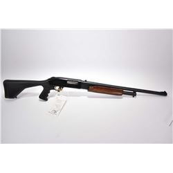 "Mossberg Model 500 A Crown Grade Slugster .12 Ga 3"" Pump Action Shotgun w/ 24"" rifled bore barrel w/"