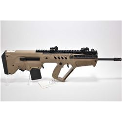 Tavor ( IWI ) Model 21 Desert Tan .223 Rem Cal Mag Fed Semi Auto Commercial Version Carbine w/ 18 1/
